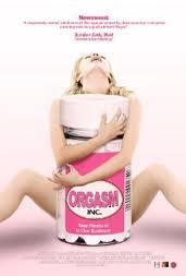 """Orgasm Inc."" poster, Liz Canner (2009)."